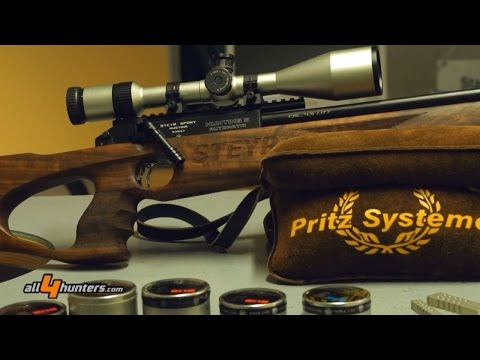 Steyr Sport Hunting 5 automatic air rifle at IWA 2014