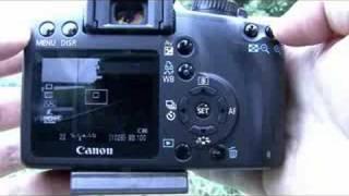 Canon 1000D tutorial