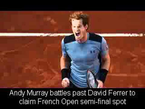 Andy Murray battles past David Ferrer to claim French Open semi-final spot