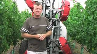 Quantum Mist Sprayer Benefits and Configuration in Vineyard