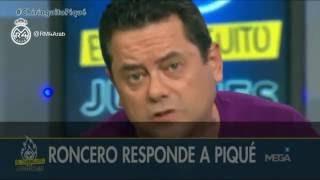رونسيرو يرد بقسوة على بيكيه: لهذا السبب ريال مدريد كابوسك بكل ساعة