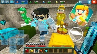 Blockman: GO - EGG WARS in The Minecraft Mode (Funny Moments)