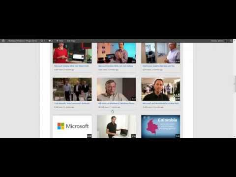 Responsive Youtube Channel Wordpress Video Gallery Plugin