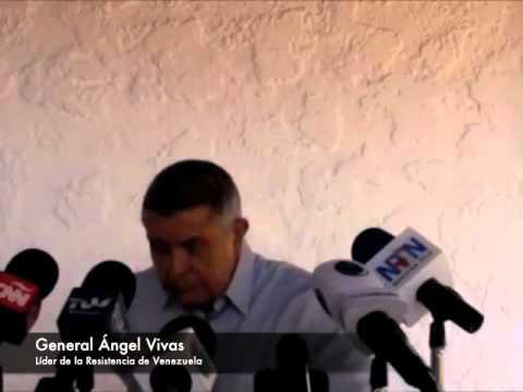 General Angel Vivas, líder de la Resistencia