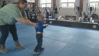 3-year-old boy battles Angelman Syndrome