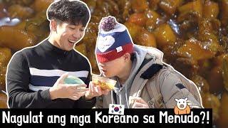 Ang reaksyon ng mga Koreano sa Menudo!?