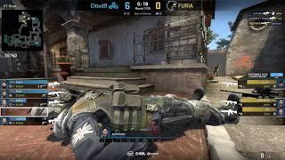 CS:GO POV Demo Cloud9 autimatic (24/7) vs FURIA (de_inferno)