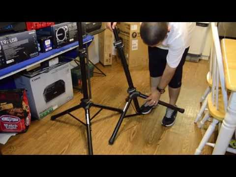 Samson SP50P Speaker Stands (Unboxing & Quick Look)