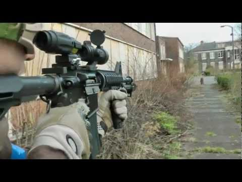 On the Range with GBB Airsoft @ SWAT Urban