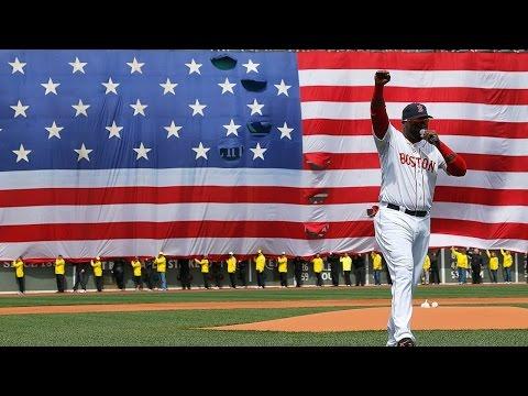 Red Sox's David Ortiz To Re-create Boston Bombings Speech For New Film