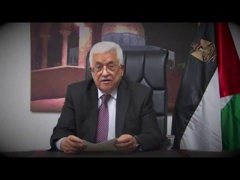Palestinian President Mahmoud Abbas message to Sinn Féin Ard Fheis