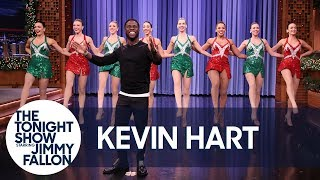 Kevin Hart Makes a Spectacular Tonight Show Entrance with Radio City Rockettes