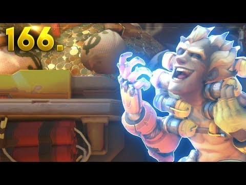 How To Counter Junkrat's Ultimate! | OVERWATCH Daily Moments Ep. 166 (Funny and Random Moments)