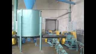 straw, cardboard, sawdust, hay, rape, other, briquetting triple line 1100-1800 kg/h, option pellet