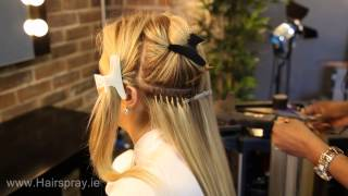 Russian Hair Extensions at Hairspray