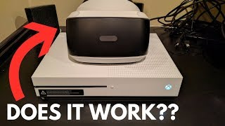 What Happens When You PLAY PLAYSTATION VR ON THE XBOX ONE??