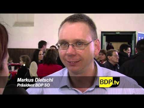 BDP Videonews zu den Kantonsratswahlen Solothurn