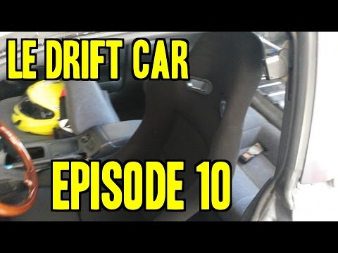 Project 240sx Le Drift Car - Ep. 10 | Racing Seat, E-brake, Painting Wheels video