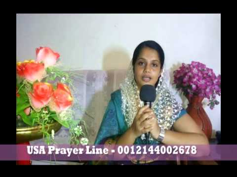 Malayalam Christian Message By Asha Blessan video