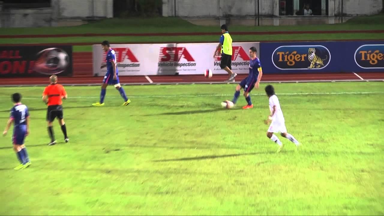 Singapore Warriors 1-0 Albirex Niigata FC