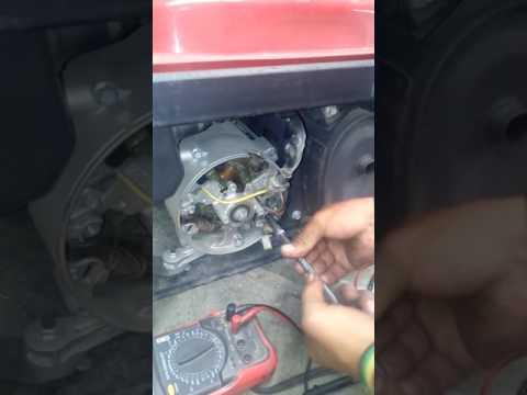 Como encontrar la falla electrica de un generador
