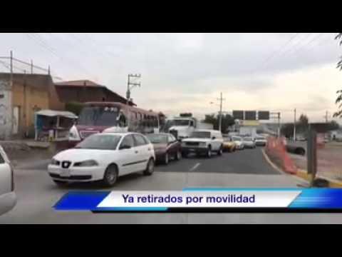 Leve choque en Periférico con dirección a Carretera Saltillo