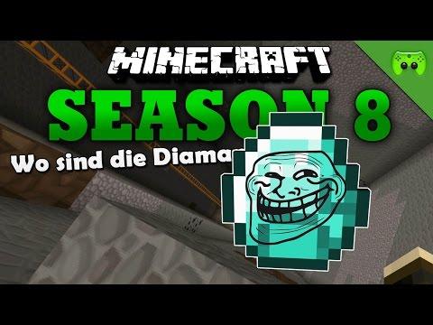 WO SIND DIE DIAMANTEN «» Minecraft Season 8 # 226 HD