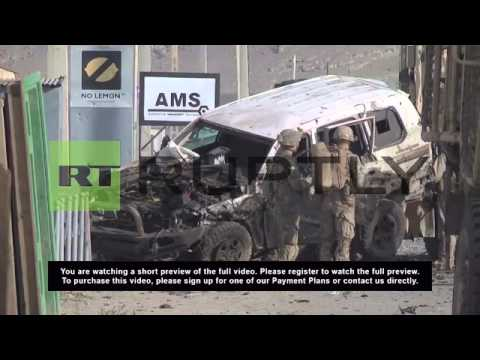 Afghanistan: Suicide bomber hits NATO convoy in Kabul