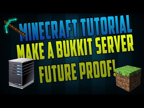 TechHelp - How to make a Minecraft 1.8.1 Bukkit Server! [Updated] [Voice Tutorial] No Hamachi!