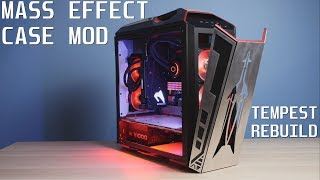 Tempest Rebuild - Mass Effect Case Mod - AORUS RTX 2080 XTREME WATERFORCE BUILD