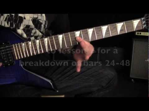 Megadeth - Tornado Of Souls Solo - Guitar Lesson - Ry Kihn