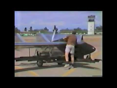 1980's Sadler Vampire Ultralight Demonstration - Rare Vintage Footage