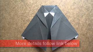 Origami Instructions Origami Witch Costume