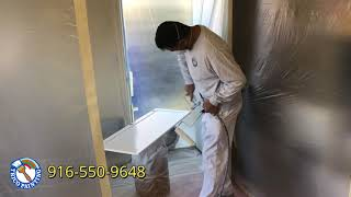 Painting Honey Oak Cabinets - Trico Painting