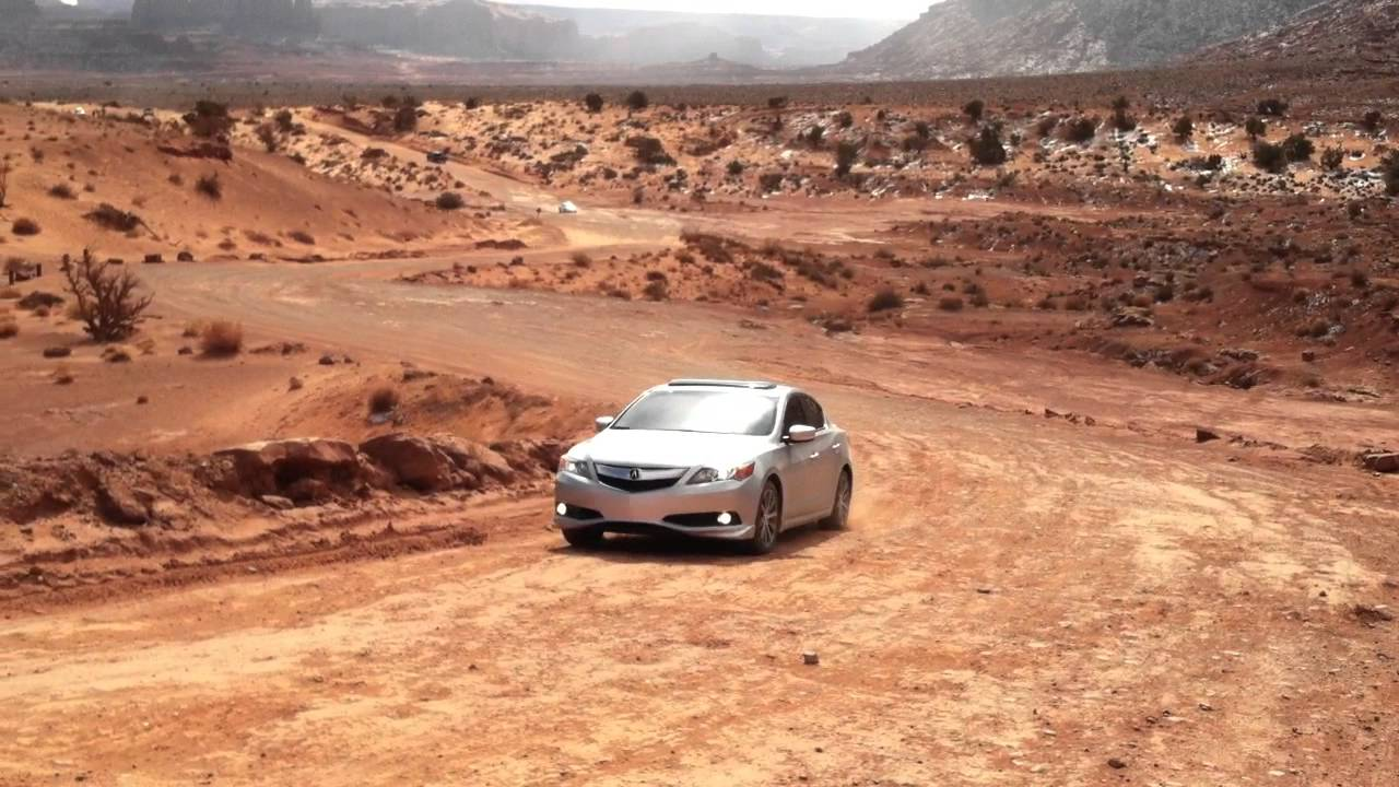 Monument Valley Scenic Drive in the 2013 Acura ILX 2.4 6-Speed - YouTube