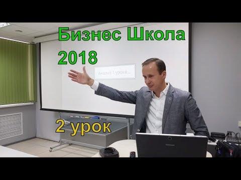 Второй урок Бизнес Школы 2018 Колыванов Александр