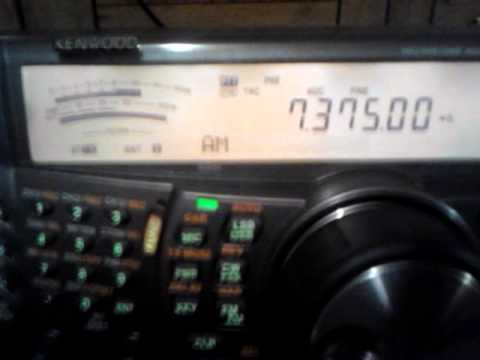 Pirate radio on 7375