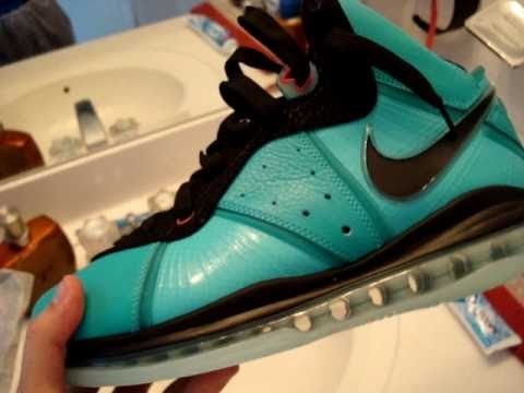Lebron 8 Pre Heat - South Beach - Miami Vice Exclusives!
