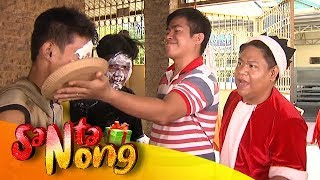 SantaNong surprises a group of cutters in Taytay | SANTANONG YEAR 3