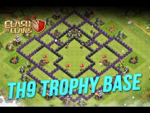 Clash of Clans :: TH9 Trophy Pushing Base