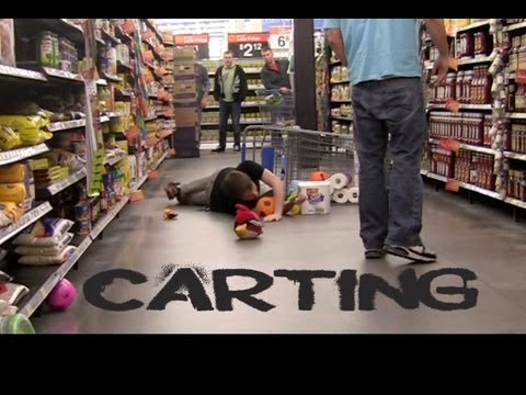 Public Prank - Carting