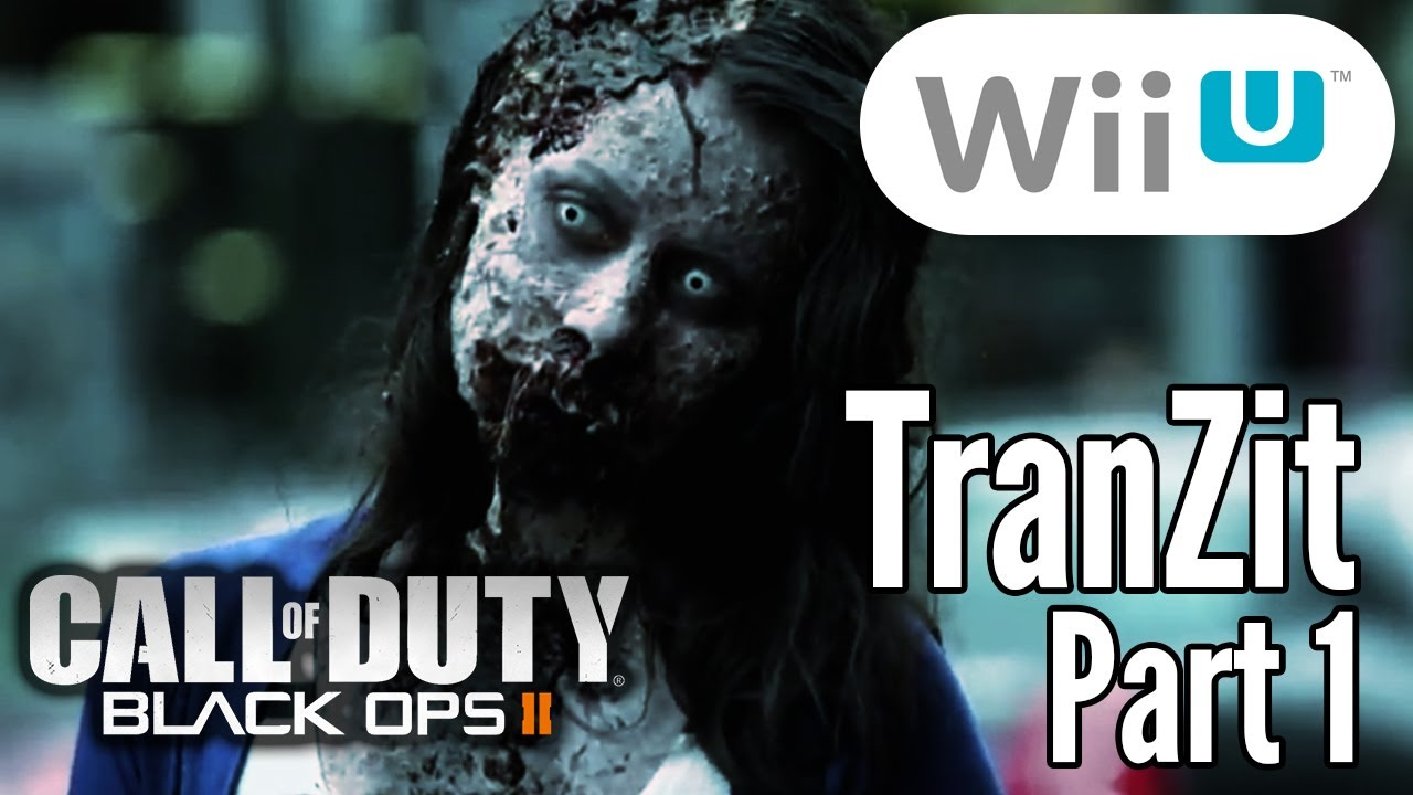 Wii U Black Ops 2 Zombies : Call of duty black ops zombies tranzit part wii
