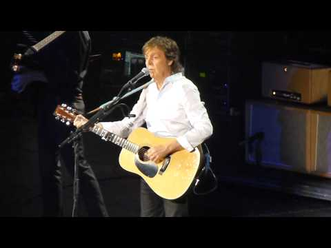 "PAUL MCCARTNEY ""And I Love Her"" 5-23-13, Austin"