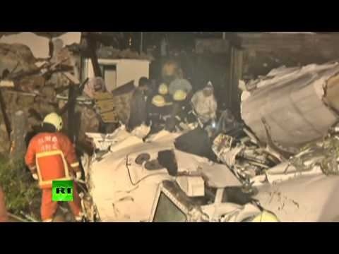 TransAsia aftermath: Dozens killed as ATR-72 crash lands on residential area in Taiwan