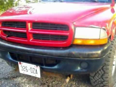 Dodge Dakota 2012 >> Dakota front end swap - YouTube