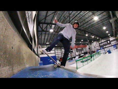 Ethernal Skate Films / HBD video X Casey Mcdonald skateboarding @ Taz skatepark Montreal
