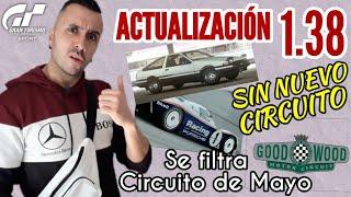 Gran Turismo Sport - Actualización 1.38 - Floja floja - Sin circuito ! | Se filtra circuito de Mayo