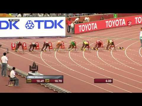 Shelly Ann Fraser Pryce wins 100m women final 10.76s |  World Athletics Championships BEIJING 2015
