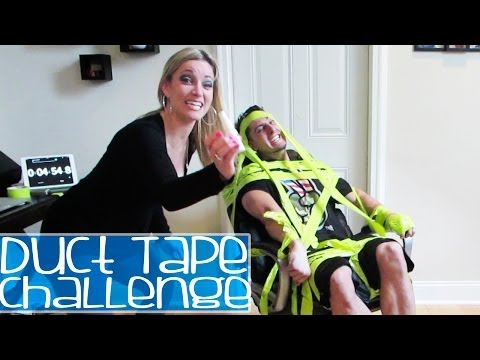 Duct Tape Challenge Prank video