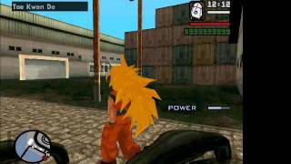 GTA SA THE BEST DRAGON BALL MOD.mp4